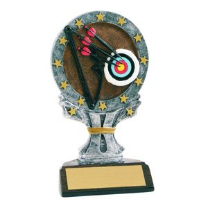 All Star Archery Resin Trophy