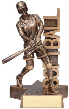 Softball Billboard Trophy