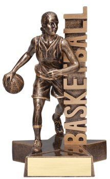 Female Basketball Billboard Trophy