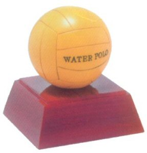 Water Polo Resin Statue Trophy