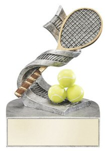 Color Tek Tennis Balls and Racket Resin Award