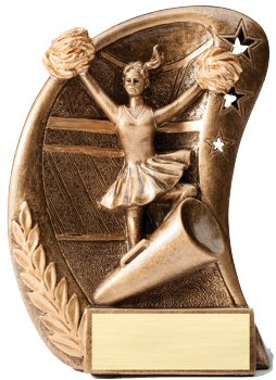 Curve Cheerleader Resin Award