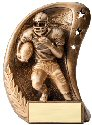 Curve Football Resin Award