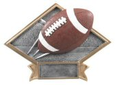 Football Diamond Resin Plate