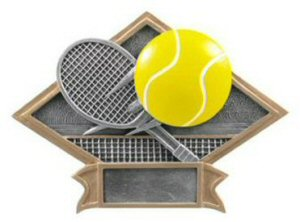 Tennis Diamond Resin Plate