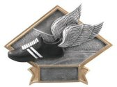 Winged Running Shoe Diamond Resin Plate