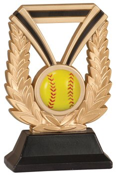 Softball DuraResin Trophy