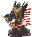 Eagle in Flight Resin Trophy
