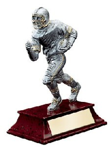 Elite Male Football Player Statue