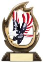 Flame Series Eagle Trophy