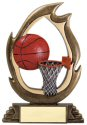 Flame Series Basketball Trophy
