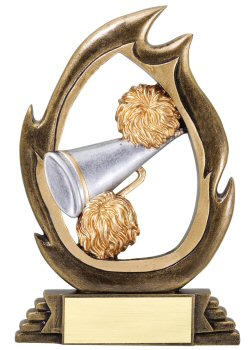 Flame Series Cheerleading Trophy