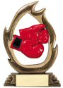 Flame Series Boxing Trophy