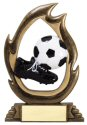 Flame Series Soccer Trophy
