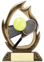 Flame Series Tennis Trophy
