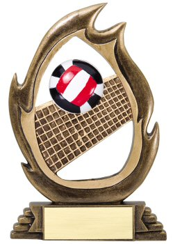 Flame Series Volleyball Trophy