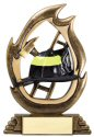 Flame Series Fireman Trophy