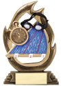 Flame Series Trophy - Swimming