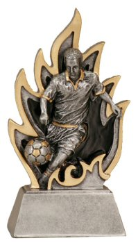 Ignite Male Soccer Resin Award