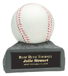 Baseball on Base Resin Award