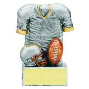 Football Jersey Resin Trophy