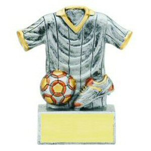 Soccer Jersey Resin Trophy