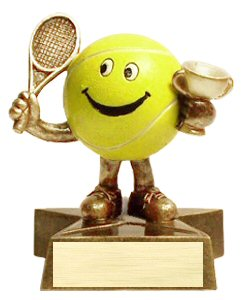 Little Buddy Tennis Trophy