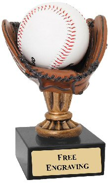 Resin Baseball Glove Award