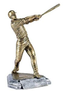 Masterworks Baseball Batter Sculpture