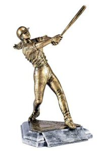 Masterworks Softball Batter Sculpture