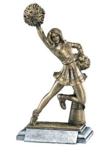 Cheerleader Masterworks Sculpture