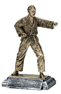 Masterworks Male Martial Arts Sculpture