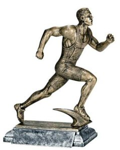 Masterworks Male Runner Sculpture