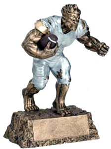 Football Monster Resin Statue