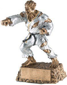 Martial Arts Monster Resin Statue