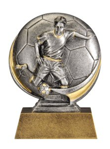 Motion Xtreme Male Soccer Resin Trophy