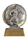 Motion Xtreme Female Soccer Resin Trophy
