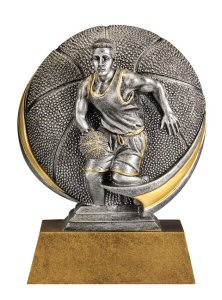 Motion Xtreme Male Basketball Resin Trophy