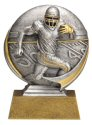 Motion Xtreme Football Resin Trophy