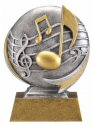 Motion Xtreme Music Resin Trophy