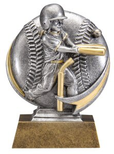 Motion Xtreme Girls T-Ball Resin Trophy