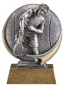 Motion Xtreme Male Tennis Player Resin Trophy
