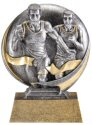 Motion Xtreme Male Runners Resin Trophy