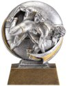 Motion Xtreme Wrestling Resin Trophy