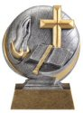 Motion Xtreme Religion Resin Trophy