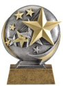 Motion Xtreme Stars Resin Trophy