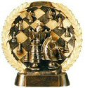 Chess Bronze Resin Plate