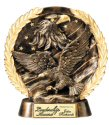 Eagle Bronze Resin Plate