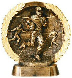Football Bronze Resin Plate