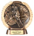 Firefighter Bronze Plate